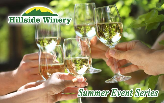 Wine on the Lawn Summer Events