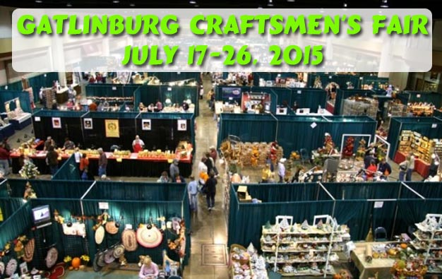 Gatlinburg Convention Center July 2015 Craftsmens Fair