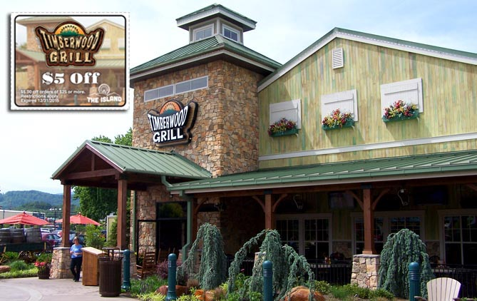 Printable restaurant coupons for pigeon forge tn