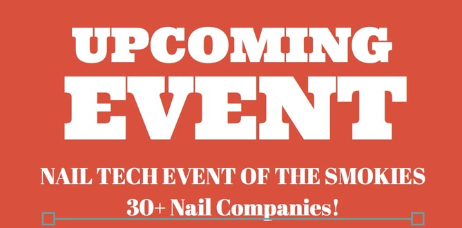 Nail Tech Event for Nail Design Trends and Supplies