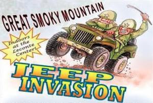 Smoky Mountain Jeep Invasion