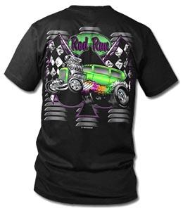 Pigeon Forge Rod Run Souvenir Tshirt