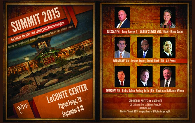 2015 Worldwide Pentecostal Fellowship Summit