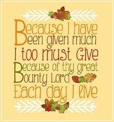 Gratitude Verse