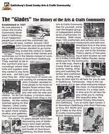 History of Gatlinburg Crafts Community
