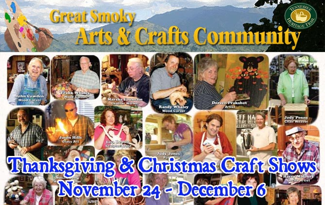 Great Smoky Arts & Crafts Community Holiday Craft Shows