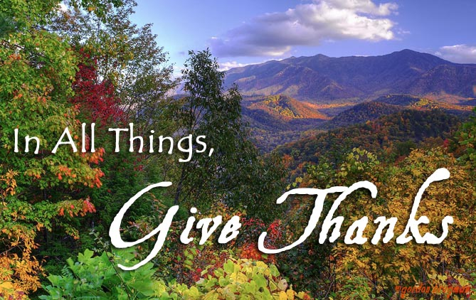 2015 Thanksgiving in the Smoky Mountains East Tennessee