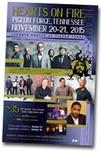 2015 Hearts on Fire Christian Youth Conference Brochure