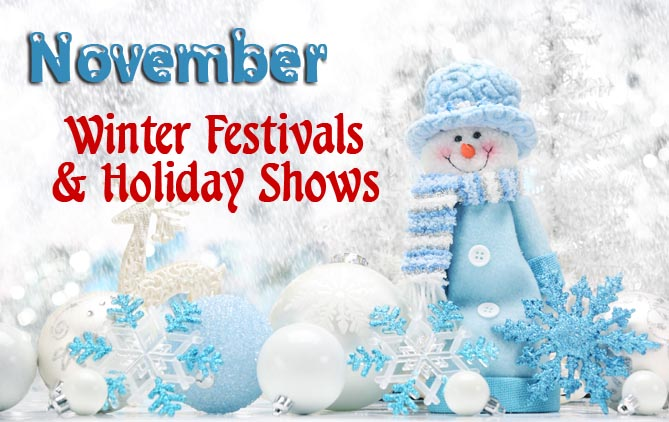 Winter Festivals and Holiday Celebrations 2015 November in The Smokies -