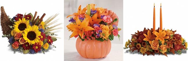 Thanksgiving Dinner Table Centerpieces