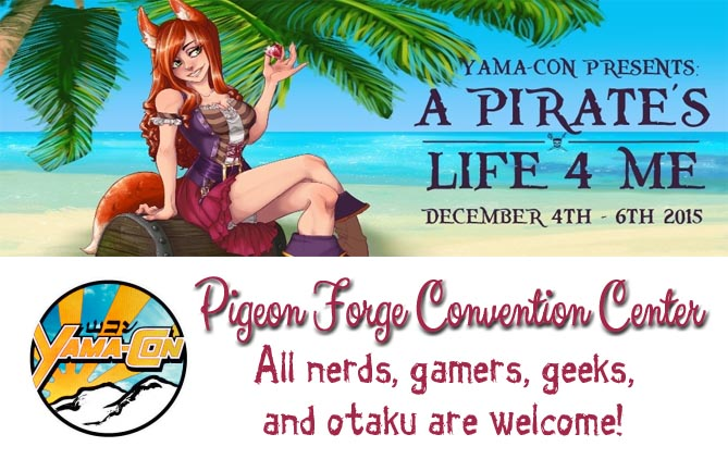 Yama Con 2015 Pigeon Forge