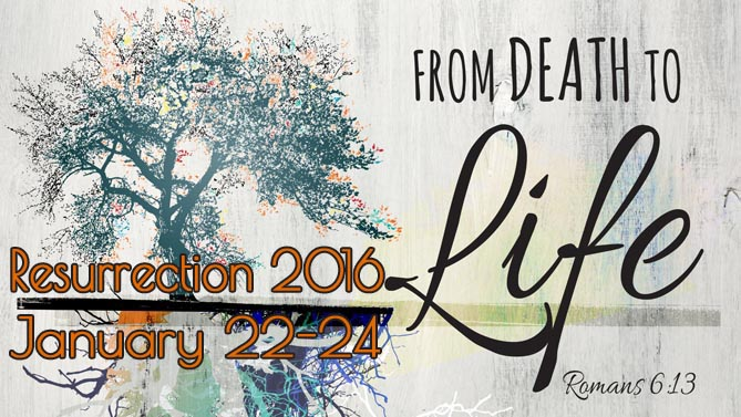 Resurrection 2016 Christian Youth Conference at LeConte Center Pigeon Forge