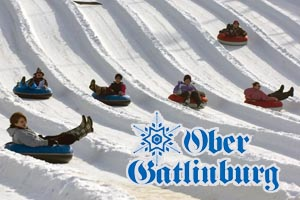 Snow-Tubing Family Fun Winter Activity at Ober Gatlinburg