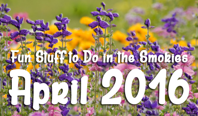 April Fun Stuff to Do in the Smokies