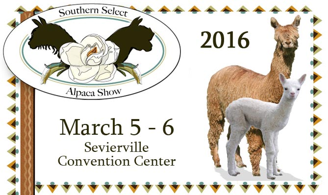 Alpaca Show at Sevierville Convention Center March 2016