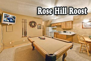 Rose Hill Roost Vacation Rental for Up to 10 People