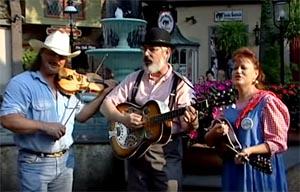 Street Performers in Downtown Gatlinburg