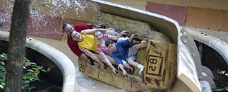 Dollywood Water Rides Slidewinder