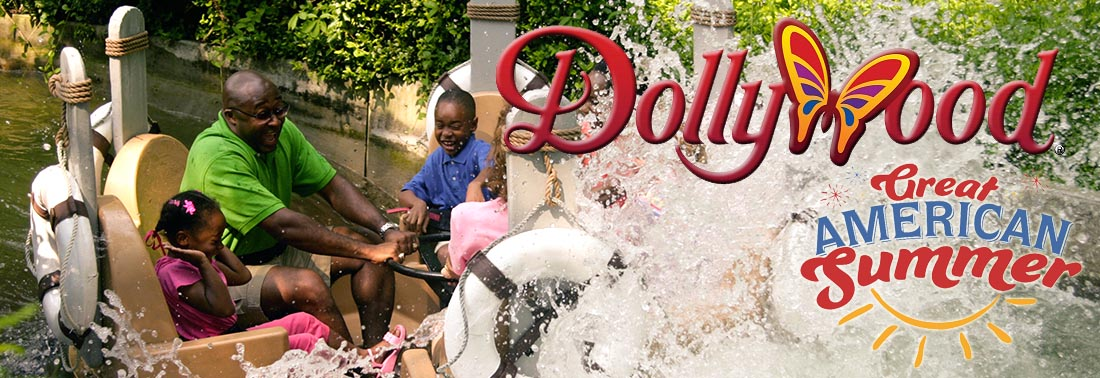 Dollywood Water Rides at Dollywood TN