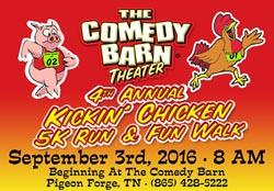 Comedy Barn Chicken Run