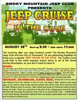 2016 Smoky Mountain Jeep Invasion Cades Cove Cruise