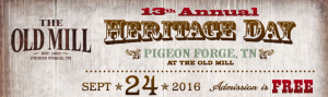 Old Mill Heritage Day Pigeon Forge TN
