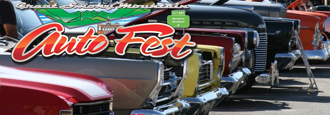 September Car Shows in the Smokies - Shades of the Past, Rod Run, Autofest