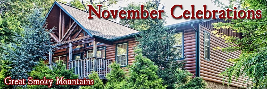 November Events in Pigeon Forge Gatlinburg Smoky Mountains
