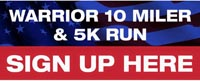 Warrior 10 Mile and 5k Run Sevierville TN