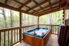 Romantic Vacation Cabin Smoky Mountains