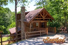 3 Bedroom Smoky Mountain Cabin