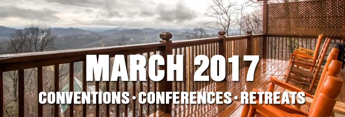 March 2017 Christian Retreats and Educational Conferences