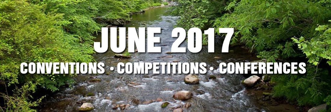 June 2017 Educational Training, Conference, Convention, Basketball Tournament and Dance Competitions in the Smokies
