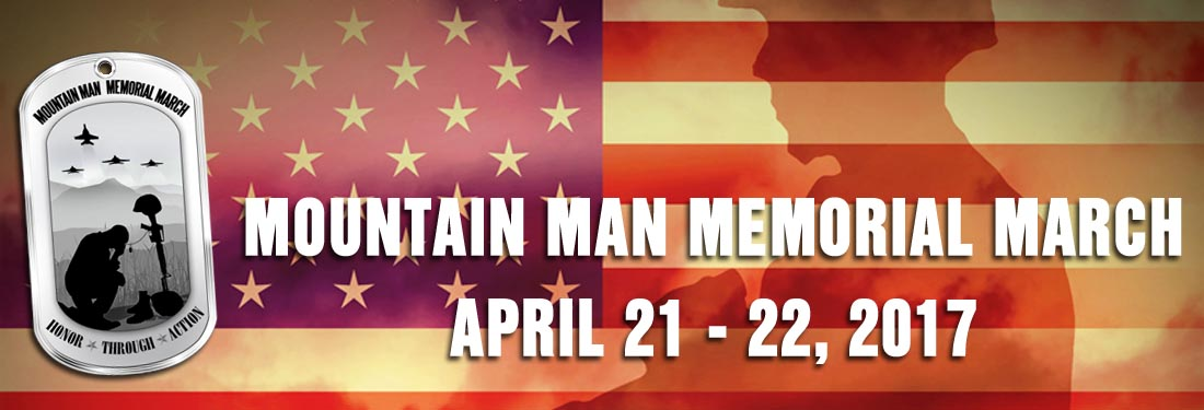 Mountain Man Memorial March 2017