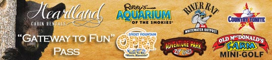 Free Attraction Passes for Pigeon Forge Attractions, Gatlinburg Attractions