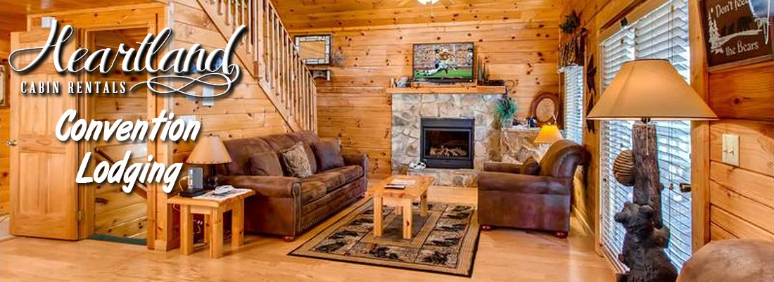 Smoky Mountains Convention Lodging - Big Cabins in Pigeon Forge, Pigeon Forge Lodge for Rent