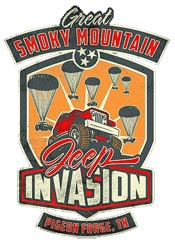 Jeep Invasion Island and LeConte Center Pigeon Forge