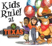 Texas Roadhouse Kid's Night Deals