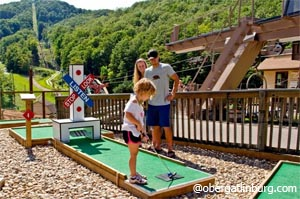 Miniature Golf at Ober Gatlinburg