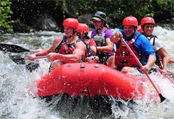 Guys Whitewater Rafting